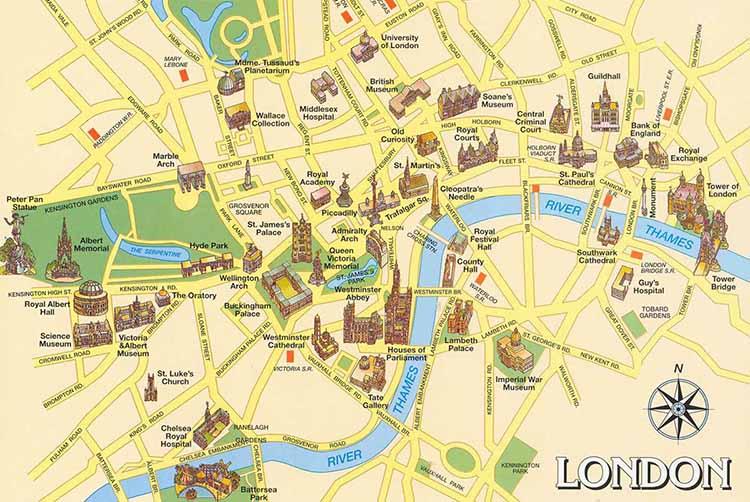 Cartina Metro Londra Da Stampare.Mappa Londra Dove Trovarle Gratis In Pdf Online Ilondra