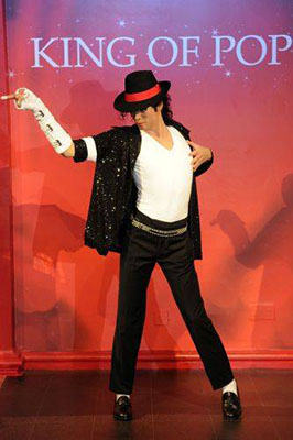 Michael Jackson at Madame Tussauds London