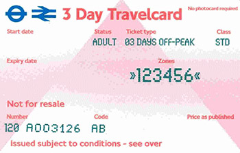travel card londra