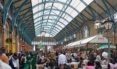 Covent Garden market londra