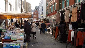 Leather Lane Market Londra