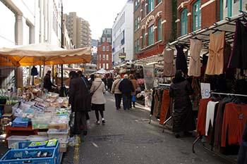 Leather Lane Market Londra