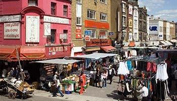Petticoat Lane Market londra