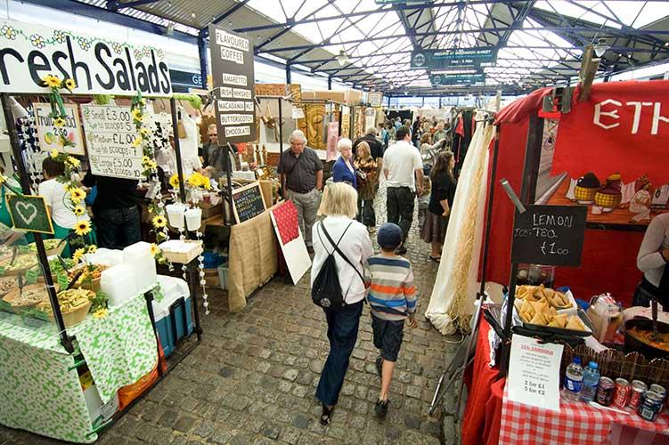 Greenwich-Market-londra
